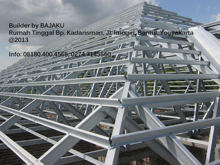 Atap Baja Ringan Bantul Yogyakarta