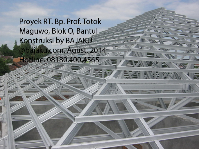 Baja Ringan proyek dibantul Yogyakarta