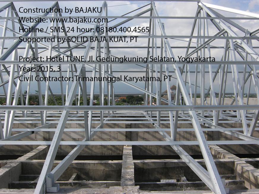 Baja Ringan BAJAKU Proyek Hotel Tune Yogyakarta