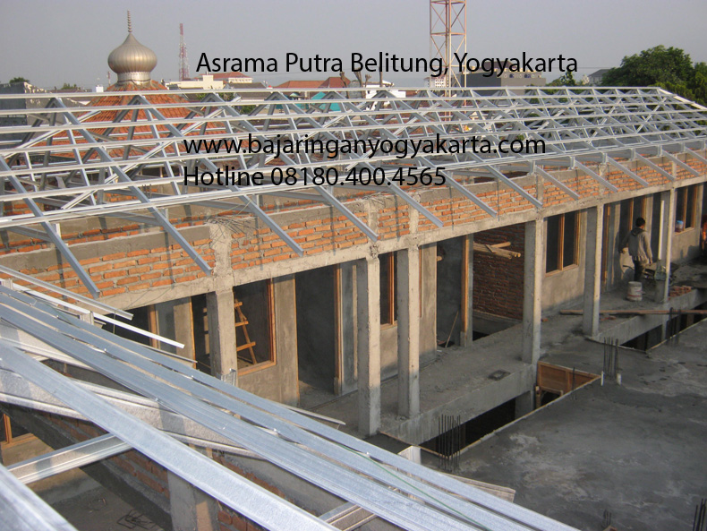 Baja Ringan Yogyakarta Asrama Belitung