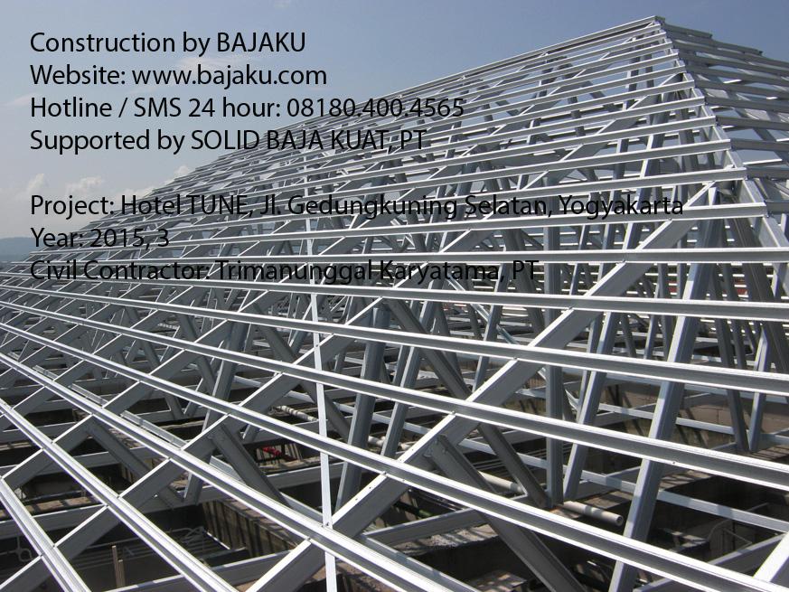 BAJAKU konstruksi Baja Ringan Yogyakarta
