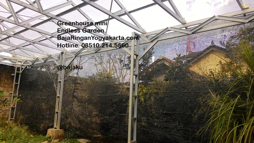 Greenhouse tanaman bungan dan pertanian Endless