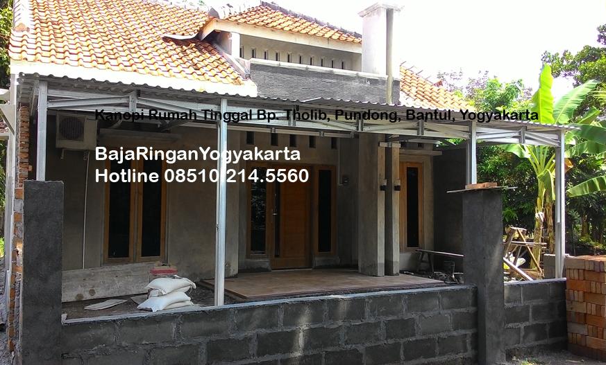 Kanopi-Baja Ringan Yogyakarta_PundongBantul_photo1