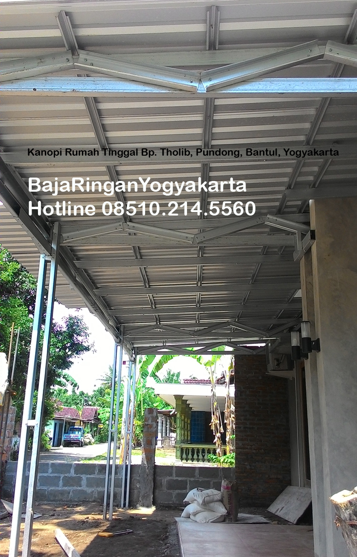 Kanopi-Baja Ringan Yogyakarta_PundongBantul_photo2